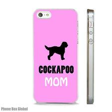 NEW COCKAPOO MOM DOG CUTE CASE FITS  IPHONE 4 4S 5 5S 5C 6 6S 7 8 SE PLUS X