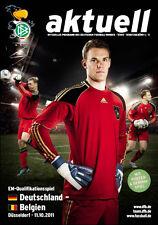 EM-Qualifikation 11.10.2011 Deutschland - Belgien in Düsseldorf