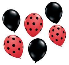 Ladybug birthday balloons, miraculous birthday balloons, little lady party suppl