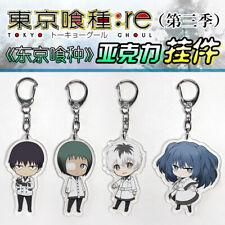 Anime Tokyo Ghoul:re Sasaki Haise Acrylic Keychain Keyring Strap 5 Characters