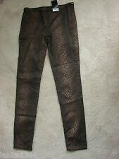 NEXT Bronz Black Tight Stretch Jeans/Trouser (NEW) size 10 Reg-£30.00