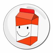 Succo d'arancia CARTONE-tondo Specchio in vetro compatta 55mm/77mm badgebeast