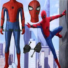 Spider-Man Homecoming Spider man Superhero Cosplay Costume Full Suit Hallowmas