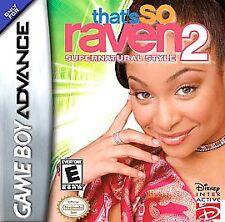 That's So Raven 2: Supernatural Style Nintendo Game Boy Advance plays Lite SP