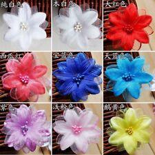 50 pièces artificiel tulle fleur en tissu pétales Robe de Mariée Nuptial voile