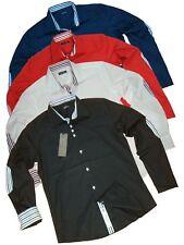 CARISMA HEMD - Slim Fit - 4 Farben - Herren Shirt - Gr. S - XXL