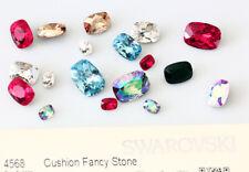 Genuine swarovski 4568 coussin fantaisie cristaux strass * plusieurs couleurs & tailles