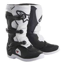 NEW Alpinestars Tech 3s YOUTH KIDS MX Motocross Boots - Black/White
