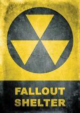 Fallout refugio Señal de Advertencia Adhesivo Auto Adhesivo Vinilo