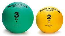 Medizinball Gummi 2 kg 3 kg 5 kg hochwertiger Gummimedizinball Gymnastikball