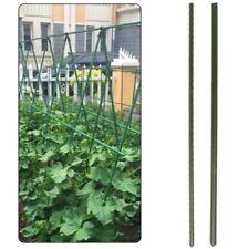 Pflanzstab Rankhilfe Pflanzenstütze Pflanzstäbe Verbinder 90-150cm 1-100 Stück