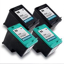 4PK HP 98 95 Ink Cartridge C9364WN C8766WN for OfficeJet H470 100 150 6310 6310v