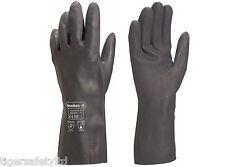 Delta Plus Venitex VE509 TOUTRAVO 509 Black Neoprene Chemical Resistant Gloves
