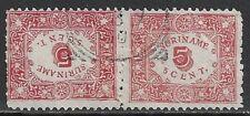Surinam 1909 NVPH 59a  CANC  VF