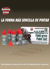 Andrea Mins Field Grey Acrylic Paint Set 6 Bottles