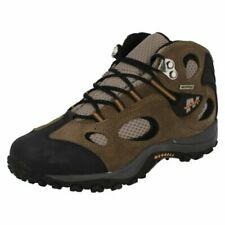 'Boys Merrell' Waterproof Ankle Boots - Chameleon Mid