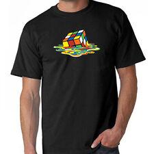 Melting Rubik's Cube  Sheldon Cooper Parody Funny T-Shirt