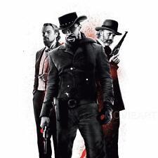 DJANGO Unchained Tarantino senza testo movie poster film a4 a3 arte stampa cinema