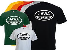 T-shirt marqué JAWA, moto, vintage, biker, motard, S, M, L, XL, NEUF