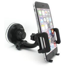 Car Mount Windshield Phone Holder Swivel Cradle Stand Window Glass Dock K2B