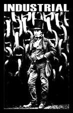"INDUSTRIAL shirt ""Making Steel & Killing Men"" Kingdom Brunel chains rivet kmfdm"