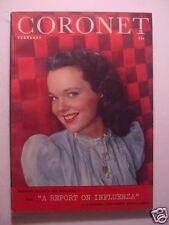 CORONET February 1946 WANDA HENDRIX ERNEST LAWRENCE LINCOLN CARL SANDBURG +++