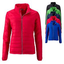 James & Nicholson Damen Ladies' Padded Jacket Jacke Steppjacke S M L XL XXL Neu