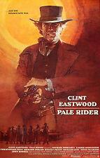 """"""" pâle CAVALIER """" Clint Eastwood classique Western Affiche de film taille"""