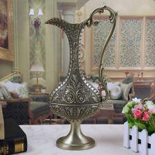 Metal Table Vase Jug Shape Antique Design Ancient Color Home Decoration Ornament
