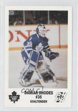 1992-93 St John's Maple Leafs Team Issue #35 Damian Rhodes St. (AHL) Hockey Card