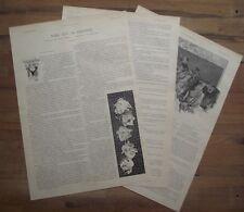 Article Noel sur la Garonne,Nouvelle de Jean Carol, José Roy, 1895