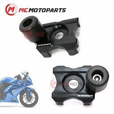 CNC Swingarm Protectors Axle Block Sliders For Kawasaki Ninja 250R 2008-2012