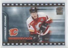 2000-01 Pacific Paramount Freeze Frame #5 Valeri Bure Calgary Flames Hockey Card