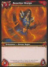 WoW - 4x Benethor Draigo - Helden von Azeroth - mint