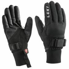 LEKI Skihandschuhe Shark XC Trigger Handschuhe Windlocker Softshell schwarz-grau
