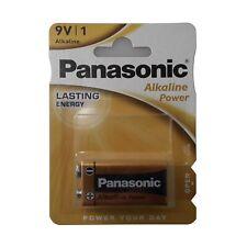 9V Alkaline PP3 battery Panasonic