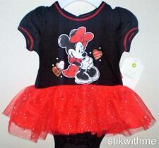NEW  Disney Minnie Mouse T-Shirt Tutu DRESS   NEWBORN up to 7 lbs. OR 0-3 Months