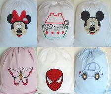 Spiderman Mickey Minnie Pokemon Personalised baby toy tidy Story sack PE bag