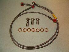 Honda CBR600F4 Stainless Steel Front Brake Lines-$210