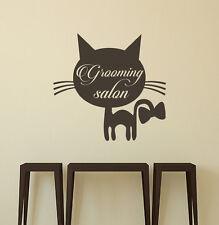 Domestic Animals Wall Decals Cat Vinyl Sticker Decal Salon Decor Interior aa248