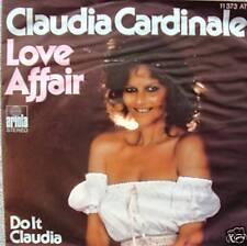 "7"" 1977 RARE! CLAUDIA CARDINALE Love Affair / VG+++ ?"
