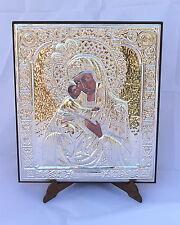 Icona Madonna di Fedorov icona argento 925/1000