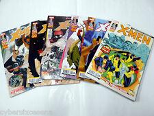 X-MEN deluxe 197  / 202  lotto 6 albi marvel panini comics