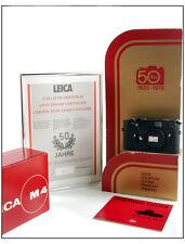 50 Jahre Leica M4 black Chrome Limited RARE w/display+certificate+box