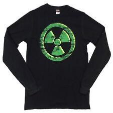 The Incredible Hulk Symbol Marvel Adult Long Sleeve Thermal Shirt