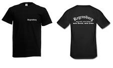 Herren T-Shirt Regensburg I Fussball I Verein I Sprüche I Fun I Lustig bis 5XL