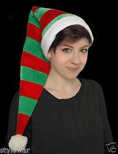 Duende Verde Y Rojo GNOME Botas Zapatos Sombrero Navidad Navidad Fancy Dress Costume