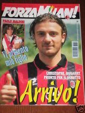 FORZA MILAN 1996/7-8 DIARIO DEI CAMPIONATI EUROPEI '96