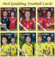 Panini FIFA 365 2019 ☆ NORDIC EDITION ☆ Scandinavian Stars Cards #397 to #405