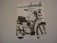 advertising Pubblicità 1972 MOTO GUZI STORNELLO 125